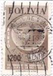 Sellos de America - Bolivia -  Conmemoracion del VII periodo de Sesiones de la CEPAL en La Paz