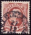 Stamps Sweden -  OSCAR II-  Rey de Suecia y Noruega