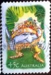 Stamps Australia -  Scott#2099 intercambio, 0,75 usd, 45 cents. 2002