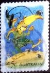 Stamps Australia -  Scott#2100 intercambio, 0,75 usd, 45 cents. 2002