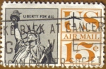 Stamps America - United States -  STATUE OF LIBERTY