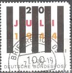 Sellos del Mundo : Europa : Alemania : 50º Anniv. De intento de asesinato de Adolf Hitler.