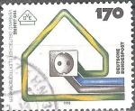 Sellos del Mundo : Europa : Alemania : Centenario de la Asociación Alemana de Ingenieros Eléctricos, VDE.