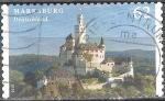 Sellos del Mundo : Europa : Alemania : castillos y palacios,castillo Marksburg.