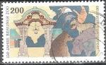 Sellos del Mundo : Europa : Alemania : 150 años Zoo de Berlín.
