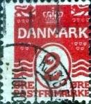 Sellos de Europa - Dinamarca -  Scott#58 intercambio, 0,35 usd, 2 cents. 1905