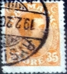 Stamps of the world : Denmark :  Scott#114 intercambio, 0,50 usd, 35 cents. 1913