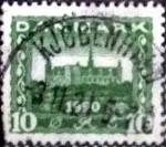Stamps of the world : Denmark :  Scott#159 intercambio, 0,45 usd, 10 cents. 1921