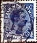 Sellos de Europa - Dinamarca -  Scott#113 intercambio, 0,45 usd, 30 cents. 1925