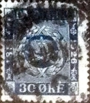 Stamps of the world : Denmark :  Scott#180 intercambio, 0,55 usd, 30 cents. 1926