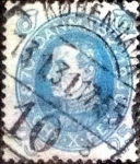 Sellos de Europa - Dinamarca -  Scott#216 intercambio, 0,75 usd, 25 cents. 1930