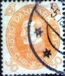 Sellos de Europa - Dinamarca -  Scott#217 intercambio, 1,75 usd, 30 cents. 1930
