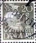 sellos de Europa - Dinamarca -  Scott#232 intercambio, 0,25 usd, 20 cents. 1933