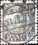 sellos de Europa - Dinamarca -  Scott#234 intercambio, 0,25 usd, 25 cents. 1934