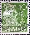 sellos de Europa - Dinamarca -  Scott#238 intercambio, 0,25 usd, 40 cents. 1933