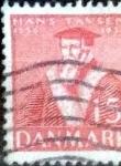 Sellos de Europa - Dinamarca -  Scott#255 intercambio, 0,25 usd, 15 cents. 1936