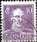 Stamps of the world : Denmark :  Scott#280 intercambio, 0,20 usd, 10 cents. 1942