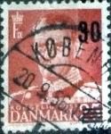 Sellos de Europa - Dinamarca -  Scott#358 intercambio, 0,20 usd, 30s.25 cents. 1956