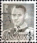 Stamps Denmark -  Scott#338 intercambio, 0,20 usd, 65 cents. 1953