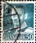 Sellos de Europa - Dinamarca -  Scott#336 intercambio, 0,20 usd, 50 cents. 1953