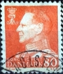 Sellos de Europa - Dinamarca -  Scott#392 intercambio, 0,20 usd, 80 cents. 1961