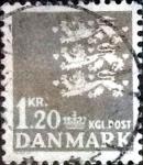 Sellos de Europa - Dinamarca -  Scott#396 intercambio, 0,20 usd,  1,20 coronas 1962