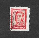 Sellos de America - Argentina -  6598A - Gnral. José San Martín