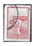 Sellos de America - Argentina -  928 - Mendoza Puente del Inca
