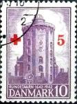 sellos de Europa - Dinamarca -  Scott#B14 mb intercambio, 0,25 usd, 10+5 cents.p 1944