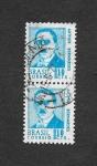 Stamps Brazil -  Arthur Bernardes
