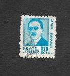 Sellos de America - Brasil -  1063 - Arthur Bernardes