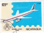 Sellos de America - Nicaragua -  AVIÓN  A-300