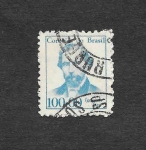 sellos de America - Brasil -  Goncalvez Dias