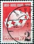 Stamps Denmark -  Scott#B26  intercambio, 0,40 usd, 30+5 cents. 1959