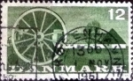 Sellos de Europa - Dinamarca -  Scott#371  intercambio, 0,20 usd, 12 cents. 1960