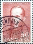 Stamps of the world : Denmark :  Scott#425 intercambio, 0,20 usd, 50 cents. 1966