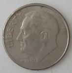 monedas de America - Estados Unidos -  2015 one dime