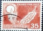 Sellos de Europa - Dinamarca -  Scott#405 intercambio, 0,20 usd, 35 cents. 1962