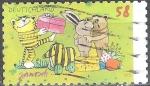 Sellos del Mundo : Europa : Alemania : 82.nacimiento Anivº de Horst Eckert,ilustrador,autor y escritor infantil.
