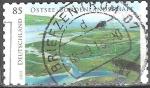 Sellos del Mundo : Europa : Alemania : Mar Báltico, paisaje de Bodden.