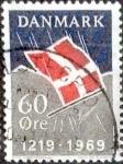 Sellos del Mundo : Europa : Dinamarca :  Scott#460 intercambio, 0,20 usd, 60 cents. 1969