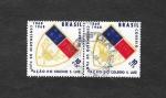 Stamps Brazil -  Centenario de la Fundación del Colegio S. Luiz