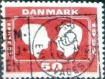 Sellos de Europa - Dinamarca -  Scott#436 intercambio, 0,20 usd, 50 cents. 1967