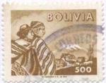 Sellos de America - Bolivia -  Serie