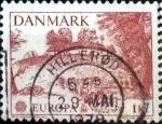 Stamps Denmark -  Scott#600 intercambio, 0,45 usd, 1 corona 1977