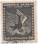 Stamps Chile -  Y & T Nº 35 Aéreo