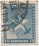 Stamps Chile -  Y & T Nº 36 Aéreo