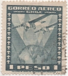 Stamps Chile -  Y & T Nº 38 Aéreo