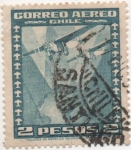 Stamps Chile -  Y & T Nº 39 [1] Aéreo