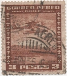 Sellos de America - Chile -  Y & T Nº 40 Aéreo